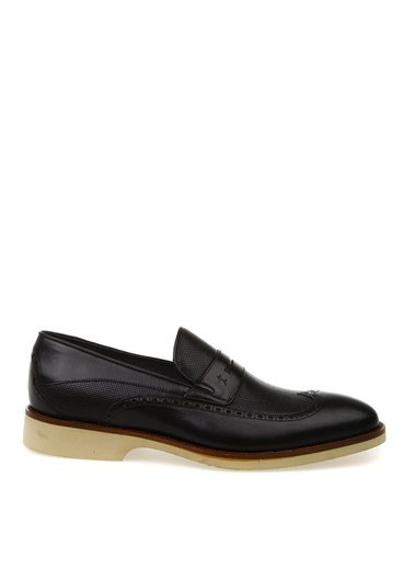 Kemal Tanca Kemal Tanca Erkek Siyah Klasik Ayakkabı Siyah